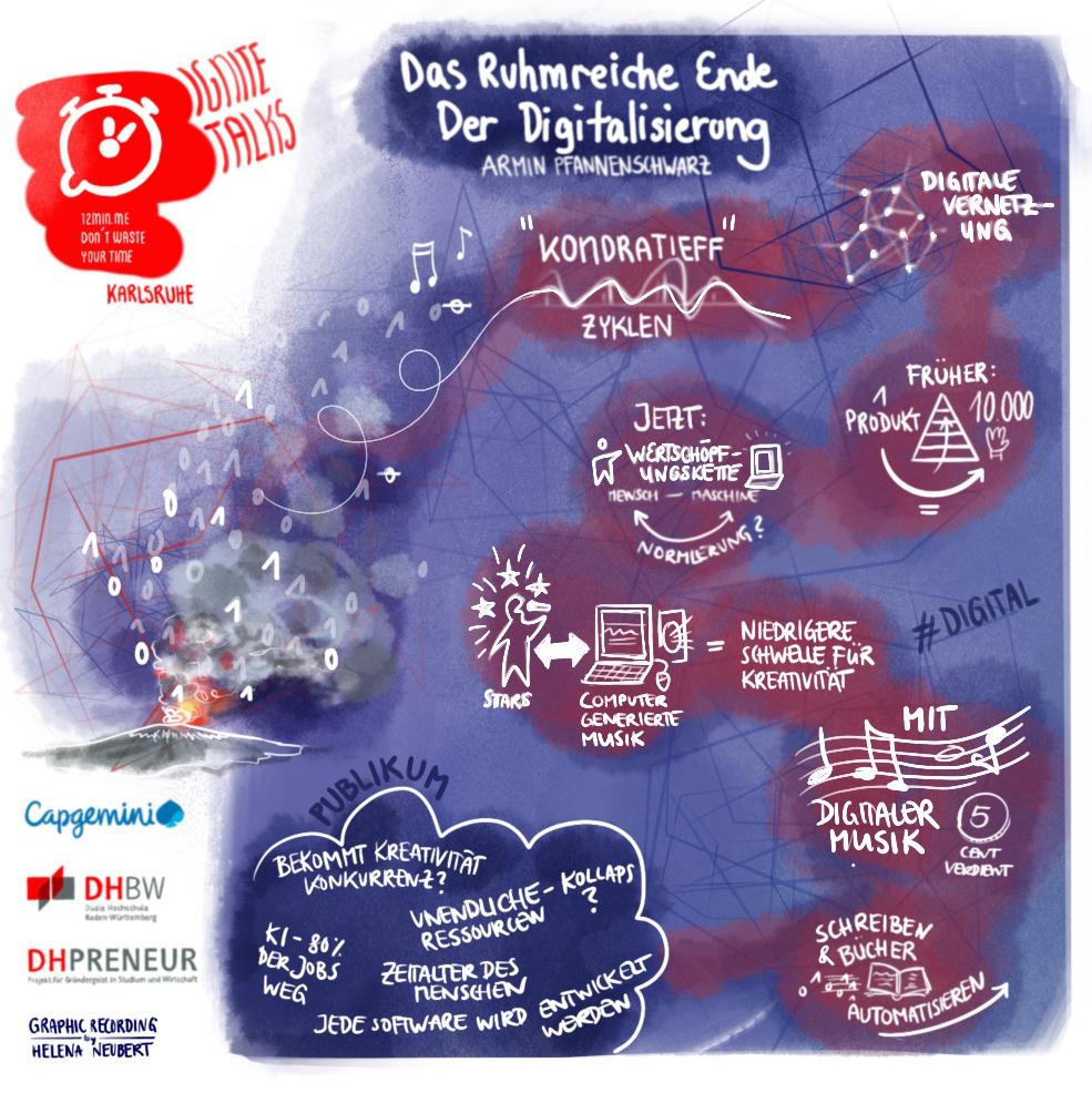 Grafische Darstellung des Vortrags von Armin Pfannenschwarz